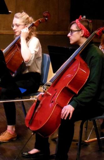 2019 Nov. 29 concert Jillie and Jessica